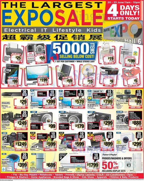 Samsung WB150F Digital Camera, Olympus E-PL5 Digital Camera, Lenovo Ideapad Yoga 11 Notebook, Canon EOS 60D DSLR Digital Camera, Sharp ESR90GSA Washer