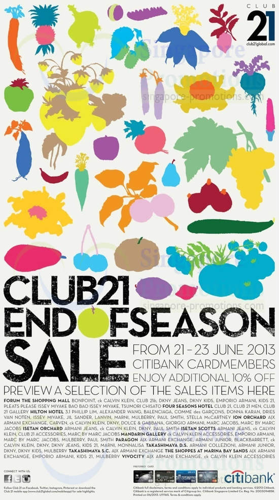 Club 21 20 Jun 2013