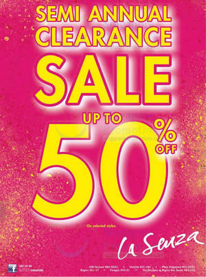 9f95251842fcb La Senza Semi Annual Clearance Sale Up To 50% Off 21 Jun 2013 UPDATED 6 Jul  2013
