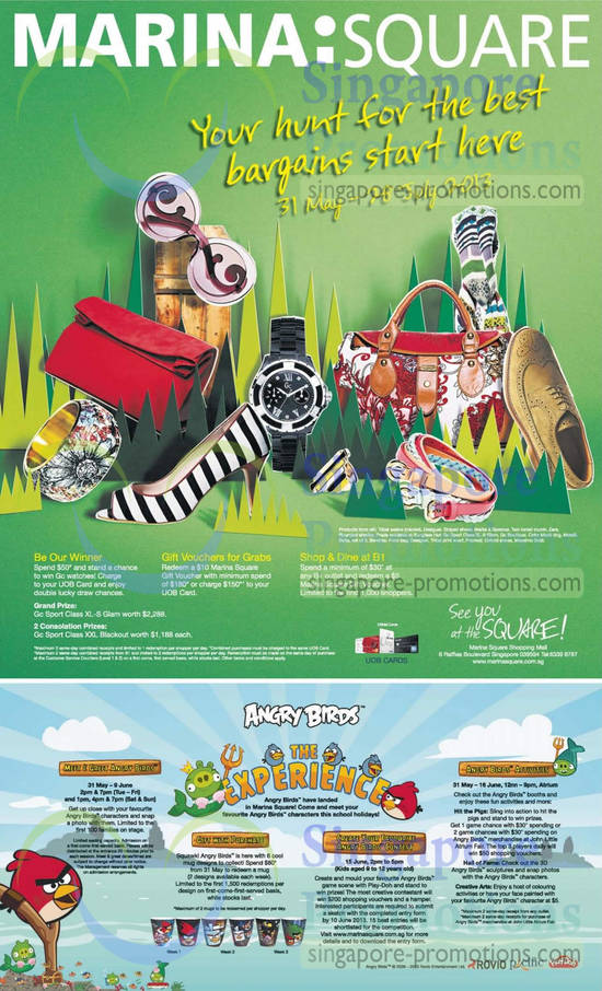 Marina Square Promotions
