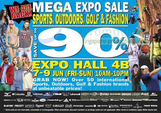 Mega Expo Sale 5 Jun 2013