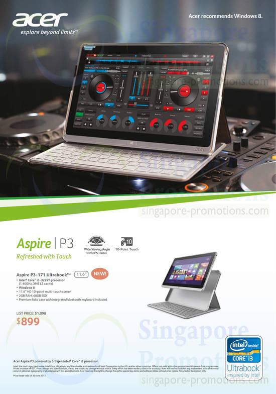 Acer P3-171 Ultrabook Notebook