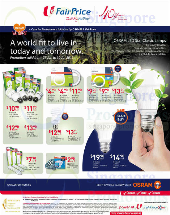 Osram LED Bulbs Lamps