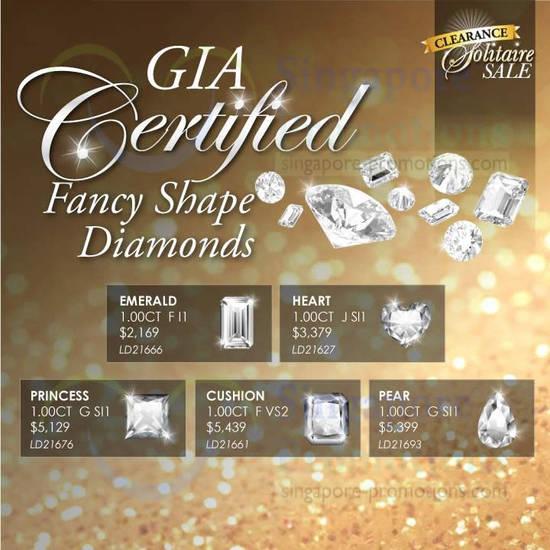 Fancy Shape Diamonds, Emerald, Heart, Princess, Cushion, Pear
