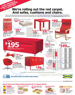 Ikea national day jul 2018 for Ikea restaurant discount