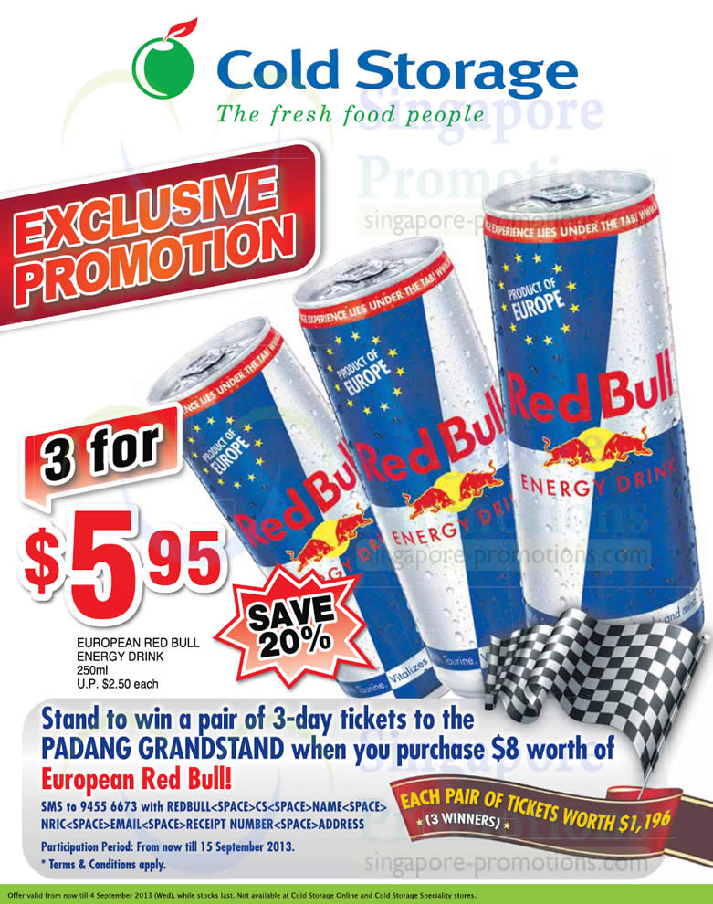 Red bull coupons