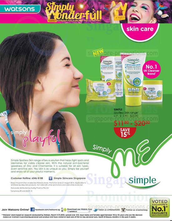 Simply Spotless Skin 15 Percent Off