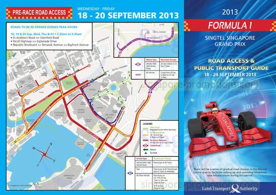 18 - 20 Sep Pre-Race Road Access