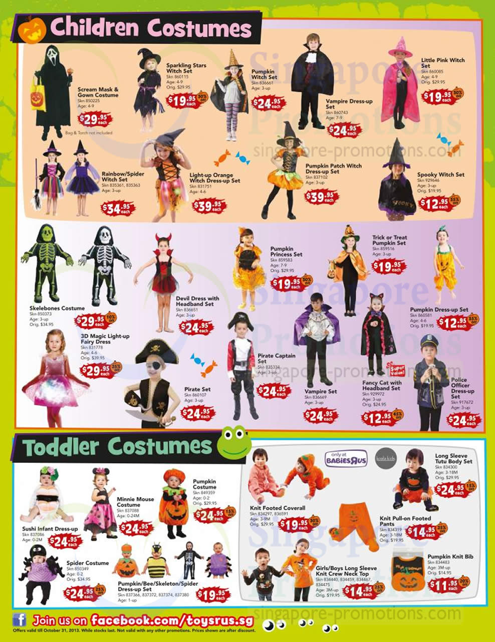 Children Costumes Toddler Costumes Babies R Us  sc 1 st  Singapore Promotions & Children Costumes Toddler Costumes Babies R Us » Toys u201cRu201d Us ...