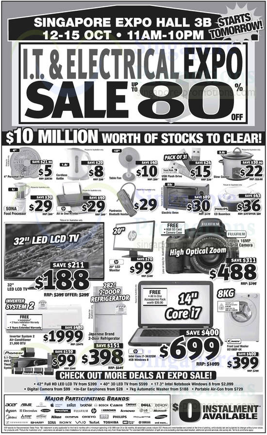 IT Electrical Expo Sale 10 Oct 2013