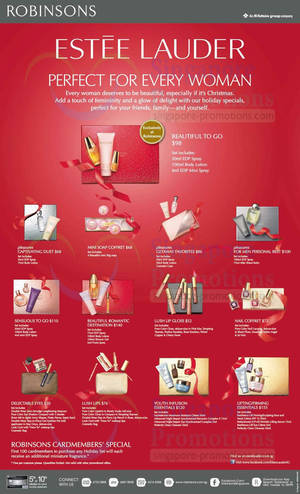 estee lauder gift sets offers robinsons 27 oct 2013