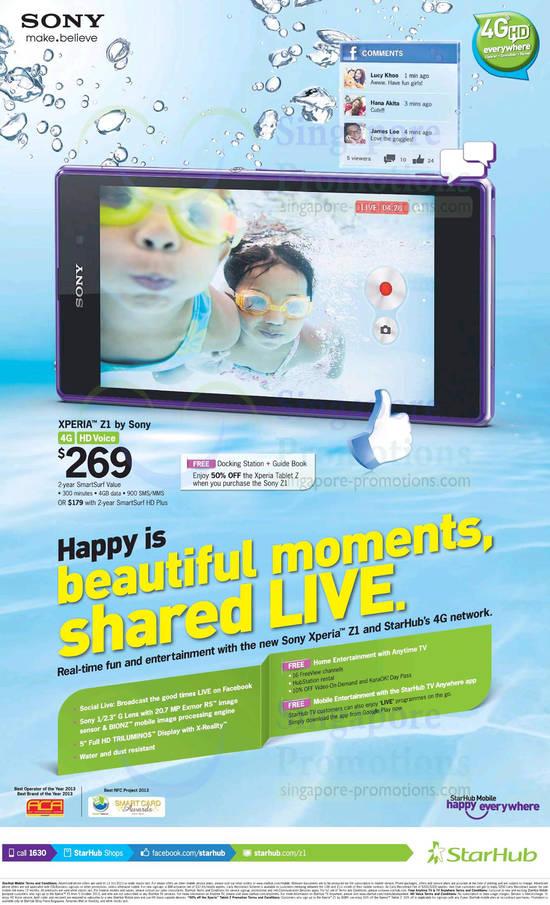 Starhub Sony Xperia Z1