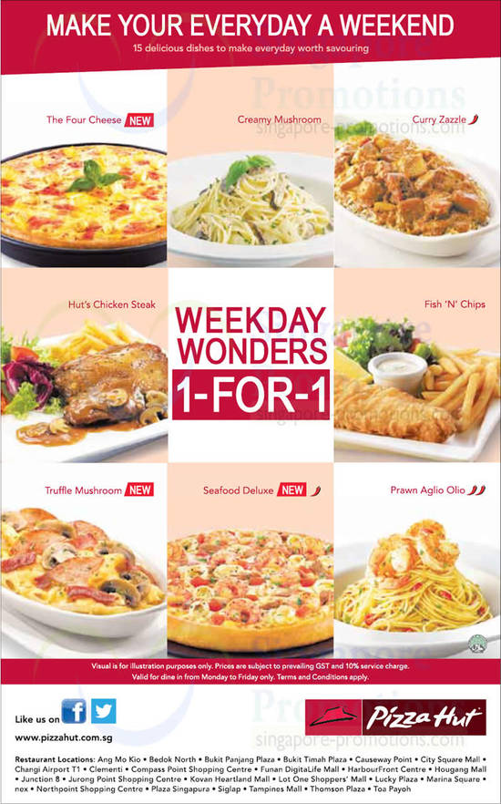 Weekday Wonders 1 For 1