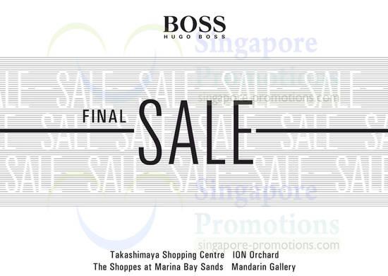 20 Dec Hugo Boss Final Sale