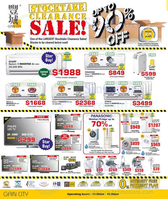 BOSCH WAE24360SG Washer, ELECTROLUX EWW1274W Washer and LG GRB207FLC Fridge