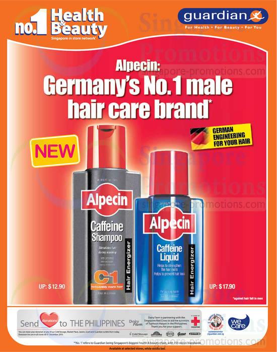 Alpecin Caffeine Shampoo, Caffeine Liquid