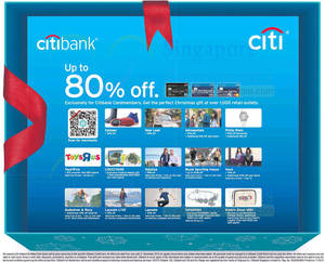 Featured image for Citibank Up To 80% OFF Offers @ Over 1,000 Retail Outlets 19 Nov – 31 Dec 2013