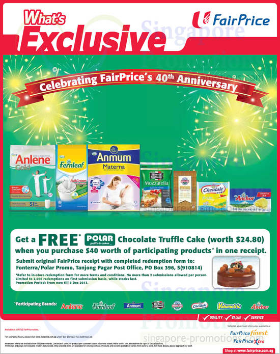 Free Polar Cake with Purchase on Participating Products