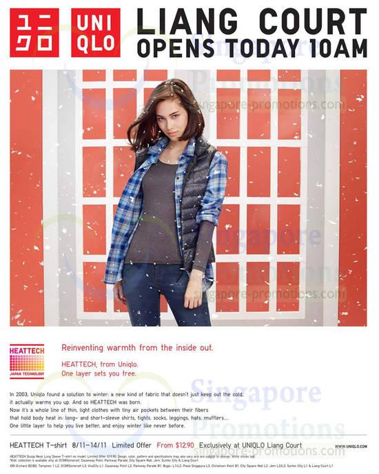 Liang Court Heattech T-Shirt Special Offer