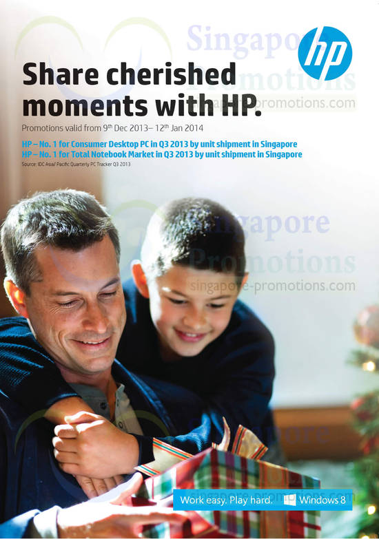 HP Notebooks, Tablets, Monitors Promotion