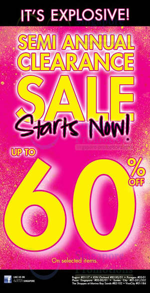 03dd478c16e20 La Senza Up To 60% OFF Semi Annual SALE 10 Dec 2013 UPDATED 20 Dec 2013