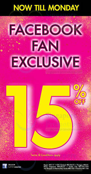 f2e193deae76f La Senza 15% OFF Coupon   Islandwide 13 – 16 Dec 2013