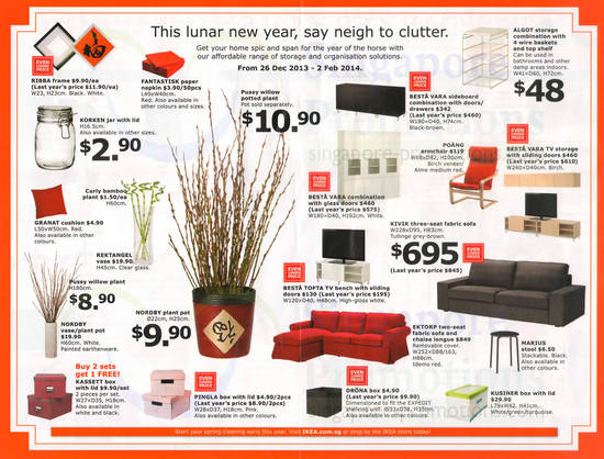 Ikea Lunar New Year Promo Offers 26 Dec 2013 2 Feb 2014