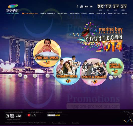 Marina Bay Countdown 2013