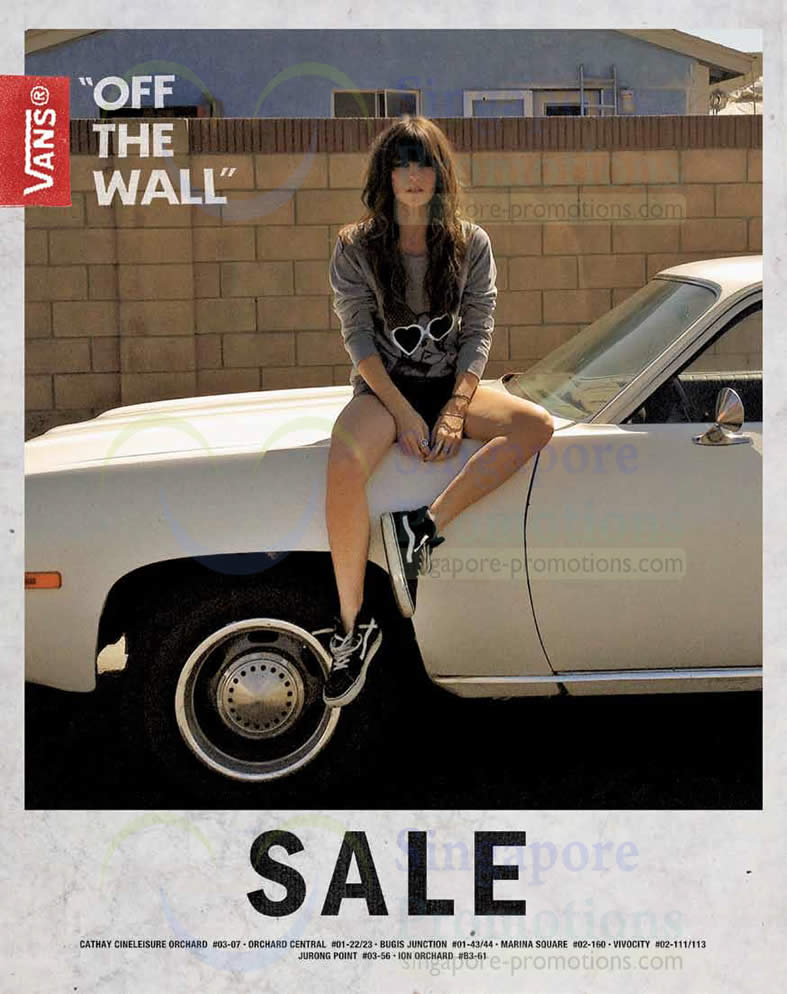 Year Calendar Singapore : Vans off the wall year end sale dec