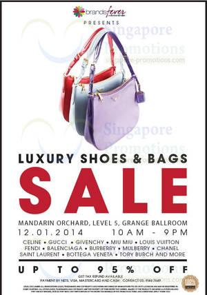 Brandsfever Handbags   Footwear Sale Up To 80% Off   Mandarin Orchard 12 Jan  2014 137e524df73e1