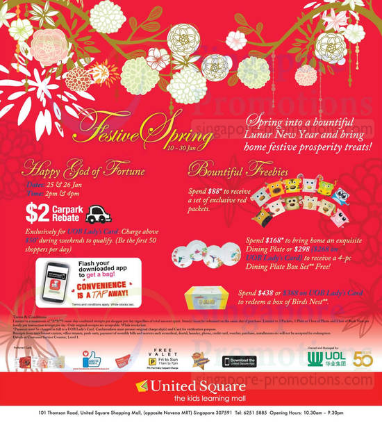 CNY Promotions, Free Gifts