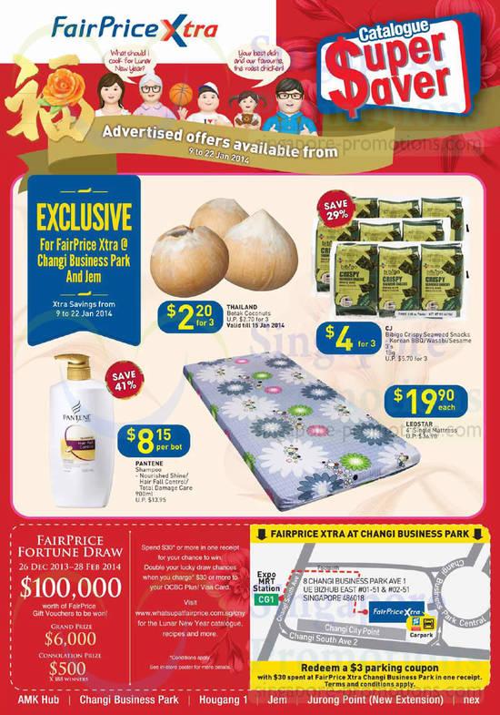 Catalogue Super Saver, Fairprice Fortune Draw