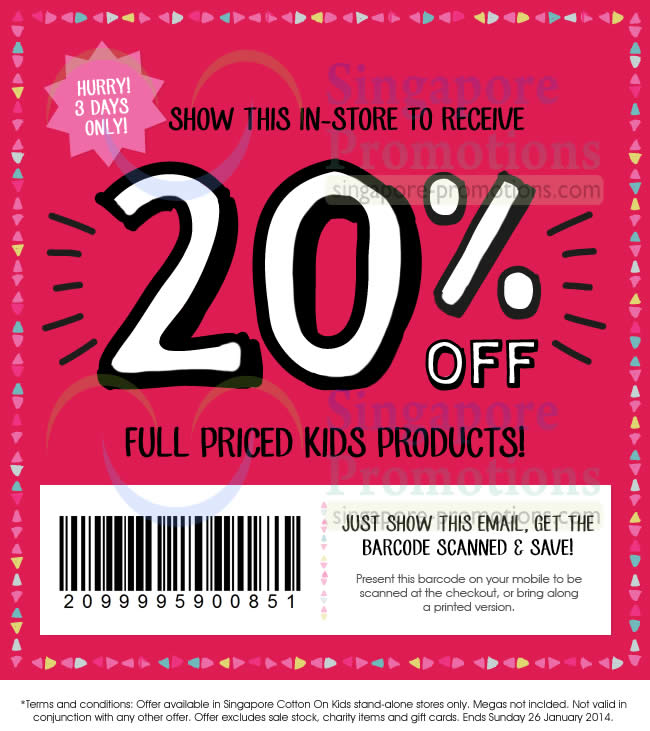 Discounts average $16 off with a Cotton On Australia promo code or coupon. 50 Cotton On Australia coupons now on RetailMeNot. Cotton On Australia Coupon Codes. Sort By: Popularity. Newest. Ending Soon. Add Favorite. Cotton On Kids NZ! Get $10 Off .