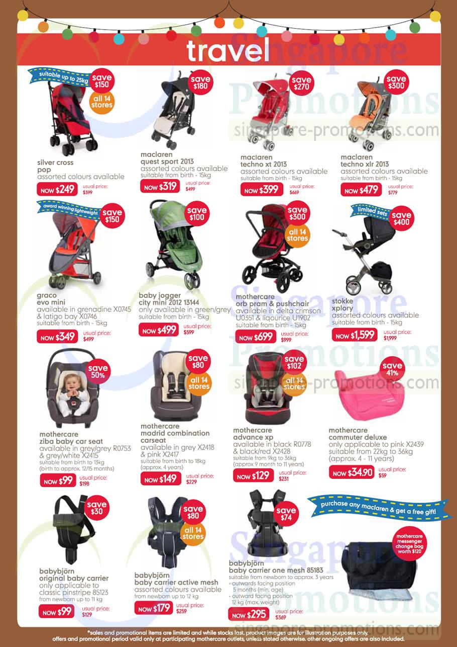 Travel Strollers Car Seats Maclaren Mothercare Stokke