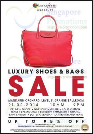 Brandsfever Handbags   Footwear Sale Up To 95% Off   Mandarin Orchard 21  Feb 2014 8524de4623f31