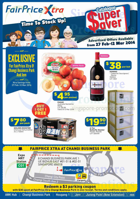 Featured image for NTUC Fairprice Electronics, Appliances, Groceries & Personal Care Offers 27 Feb - 12 Mar 2014