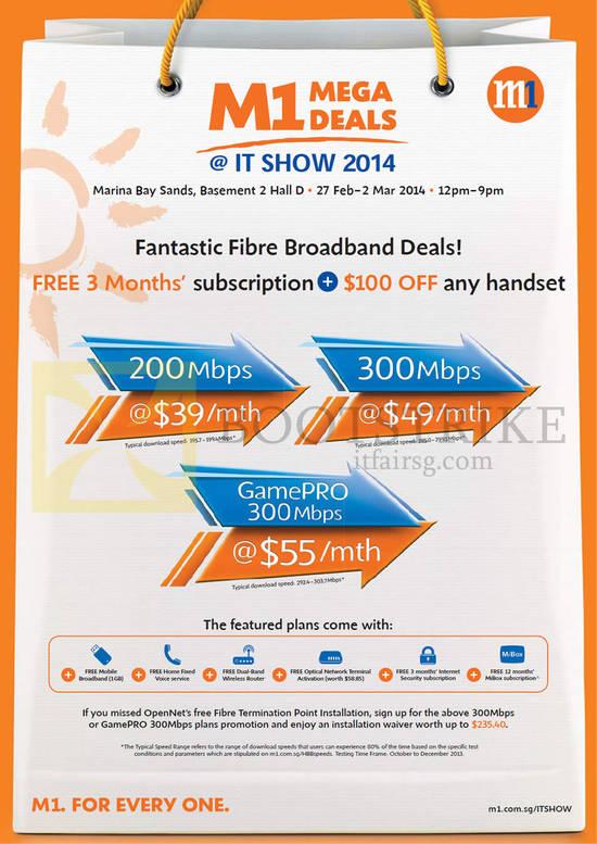 Fibre Broadband Free 3 Months 200Mbps 39.00, 300Mbps 49.00, GamePro 55.00, 100 Dollar Off Handset