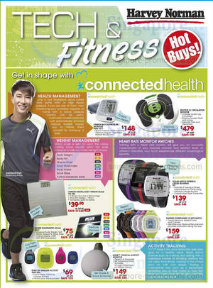 Featured image for Harvey Norman Tech & Fitness Offers 17 – 28 Feb 2014