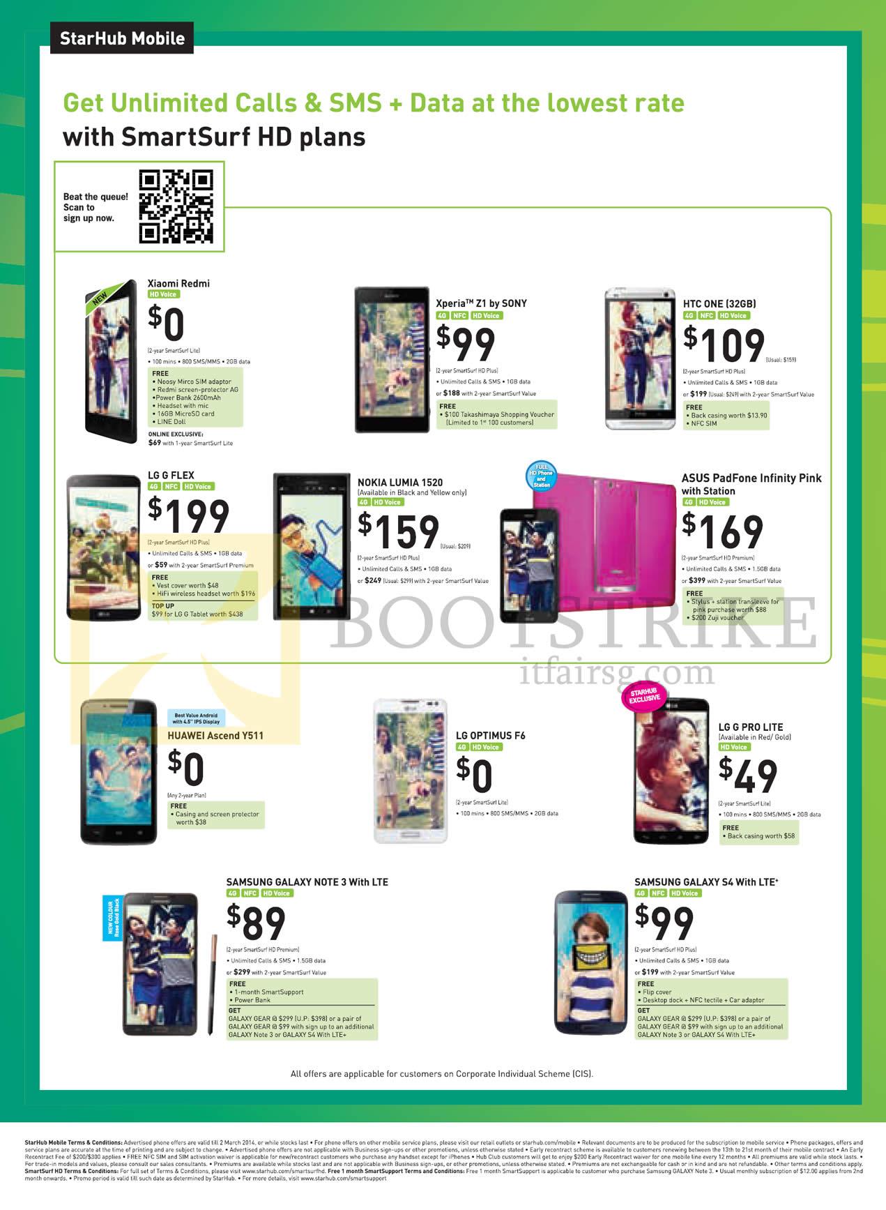 Mobile Xiaomi Redmi Sony Xperia Z1 Htc One Lg G Flex Nokia Lumia Voucher 3 1gb 1520 Asus Padfone Infinity Huawei Ascend Y511 Optimus F6 Pro Lite Samsung Galaxy Note S4