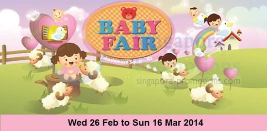 Takashimaya Baby Fair 10 Feb 2014