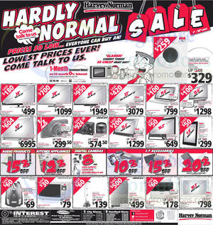 Featured image for Harvey Norman Digital Cameras, Furniture, Notebooks & Appliances Offers 22 – 28 Mar 2014