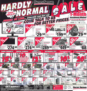 Featured image for Harvey Norman Electronics, Furniture, Bedding & Other Offers 1 – 7 Mar 2014