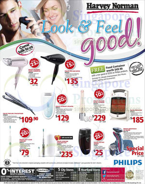 Featured image for Harvey Norman Philips Personal Care Offers 13 – 19 Mar 2014