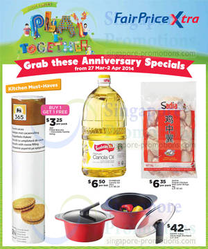 Featured image for NTUC Fairprice Electronics, Appliances, Groceries & Other Offers 27 Mar – 9 Apr 2014