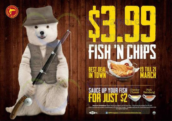 Manhattan Fish Market 17 Mar 2014