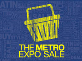 Metro Expo Sale Logo 12 Mar 2014