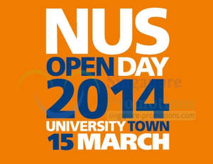 Featured image for NUS Open House 15 Mar 2014