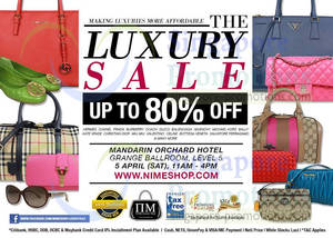 Nimeshop Branded Handbags Sale Up To 80% Off   Mandarin Orchard 5 Apr 2014 01d667bc508c4
