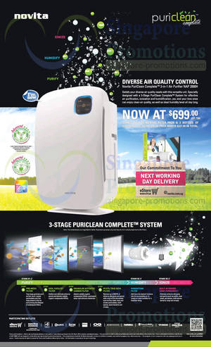 Featured image for Novita PuriClean NAP 2000H Air Purifier Promo Offer 5 Mar 2014