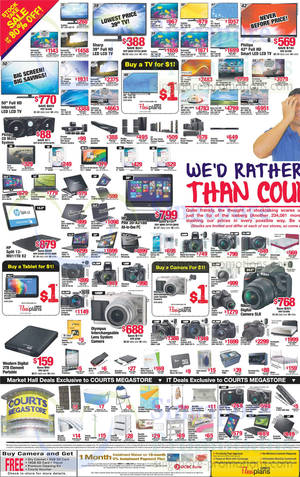 Featured image for Courts Stock Take Offers 15 – 17 Mar 2014